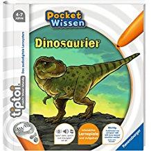 Dinosaurier Wissen Kinderbuch tiptoi